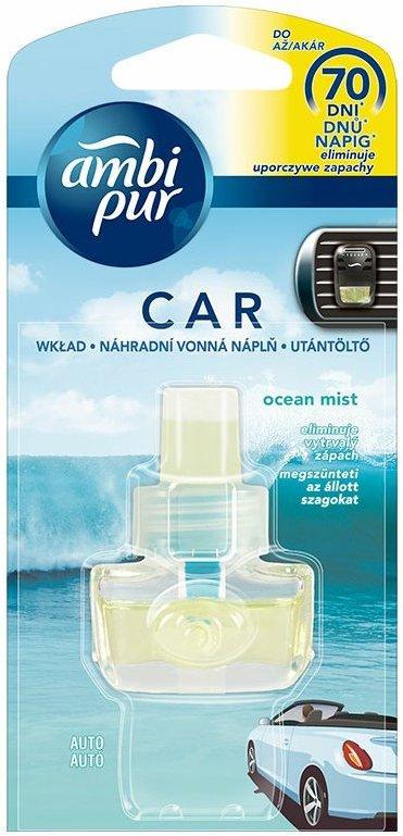 Fotografie Ambi Pur Car Ocean Mist náhradní náplň 7 ml