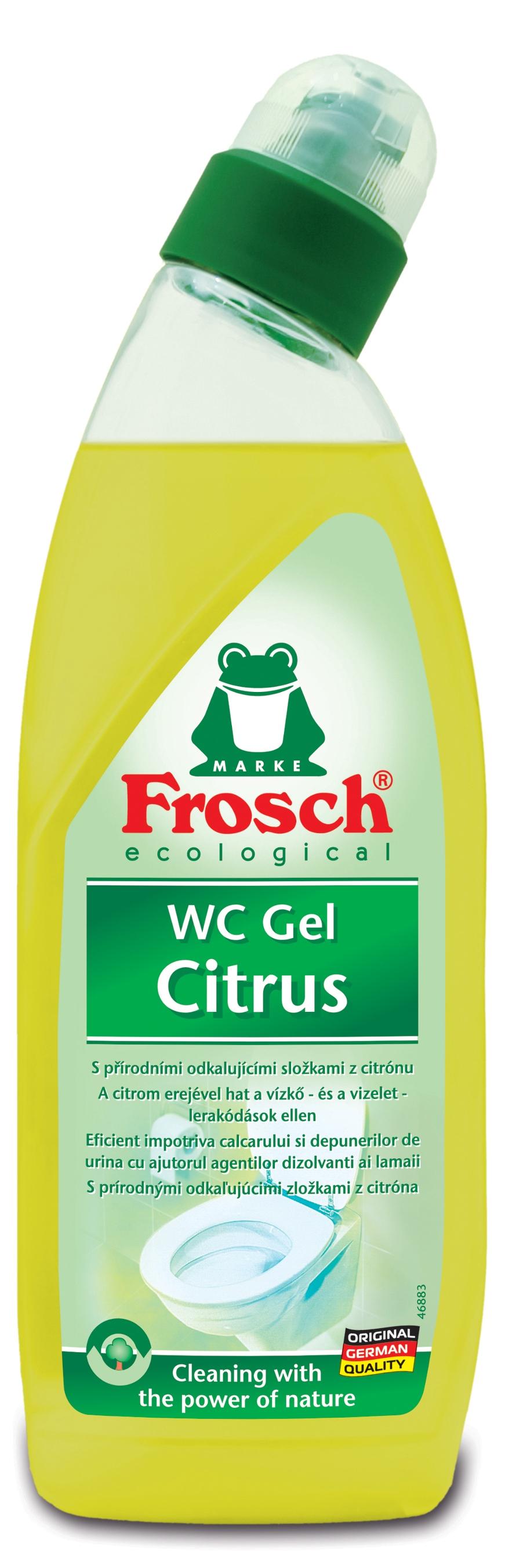 Fotografie Frosch Eko Citron Wc čistič tekutý 750 ml