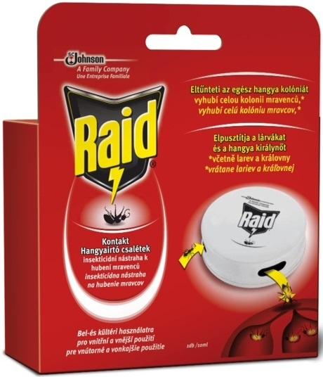 Fotografie Raid insekticidní nástraha k hubení mravenců 1 kus