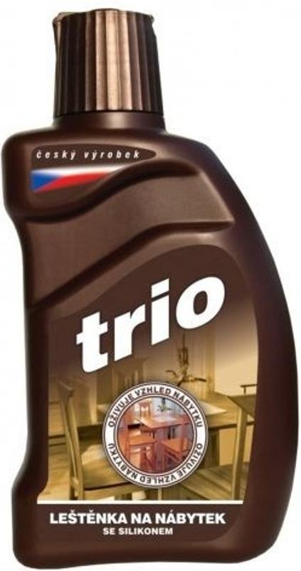 Trio leštěnka na nábytek se silikonem 300 ml