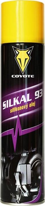 Coyote Silkal 93 silikonový olej maziovo na ložiska, čepy, elektrická a startovací zařízení, jízdní kola sprej 400 ml