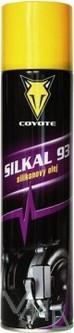 Coyote Silkal 93 silikonový olej mazivo na ložiska, čepy, elektrická a startovací zařízení, jízdní kola.. sprej 300 ml