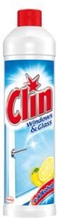 Clin Citrus s vůní citronu čistič na okna a sklo squeezer 500 ml