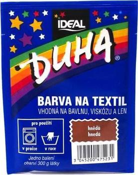 Duha barva na textil číslo 23 hnědá 15 g