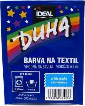 Duha barva na textil číslo 31 světle modrá 15 g