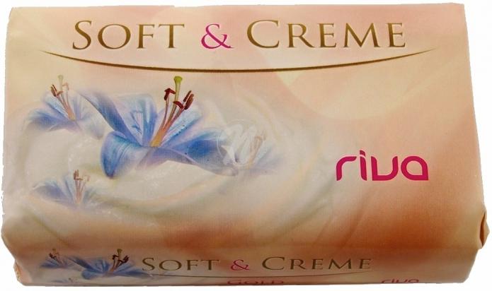 Fotografie Riva Soft & Creme Gold jemné toaletní mýdlo 180 g