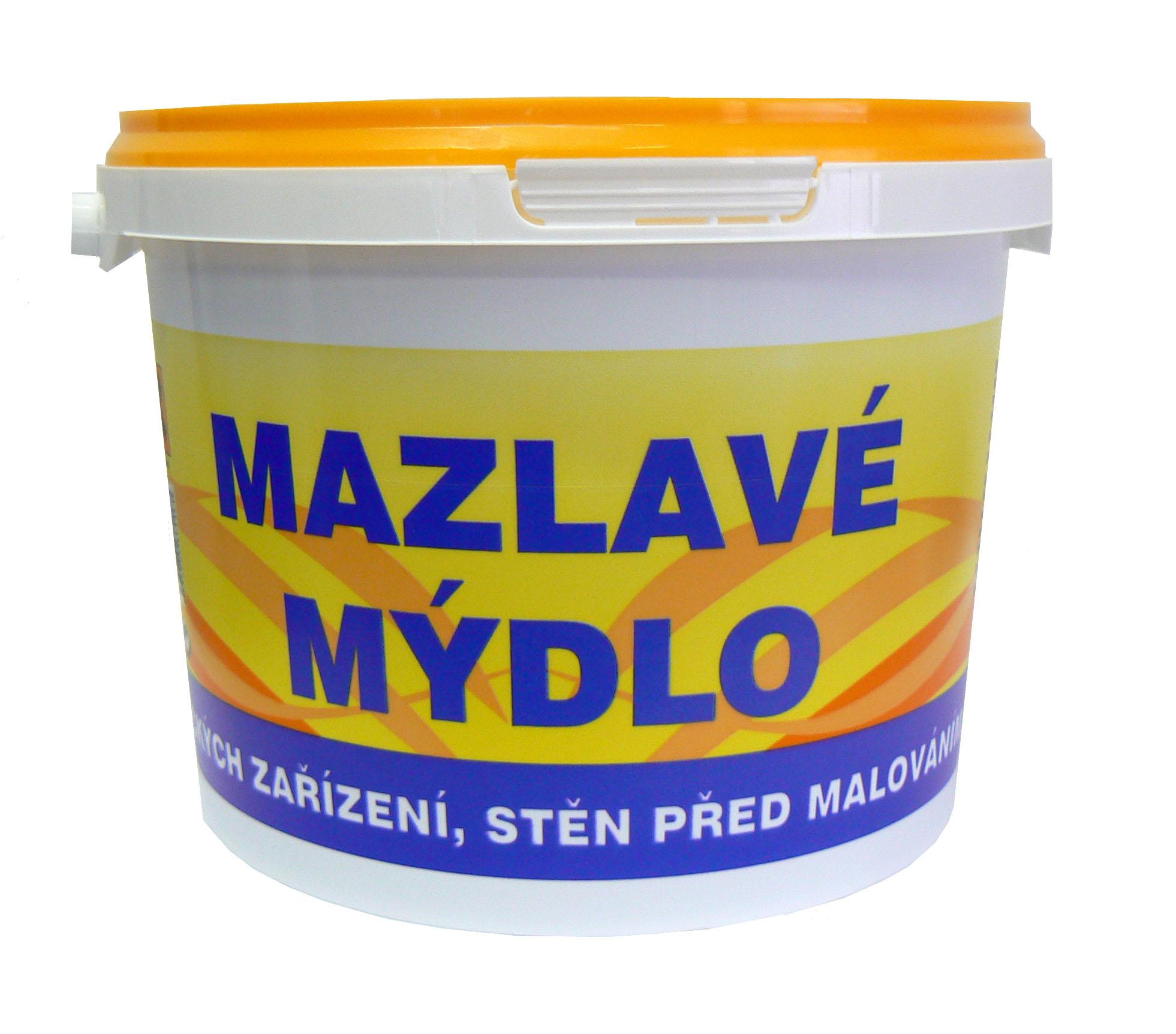 Fotografie Mazlavé mýdlo draselné mýdlo bez aditiv a konzervantů mycí prostředek 2 kg