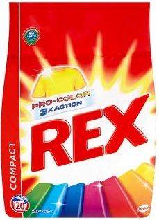 Rex 3x Action Color Pro-Color prací prášek na barevné prádlo 20 dávek 1,5 kg