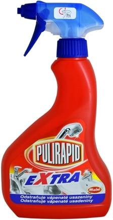 Fotografie Pulirapid Extra na rez a vodní kámen 500 ml
