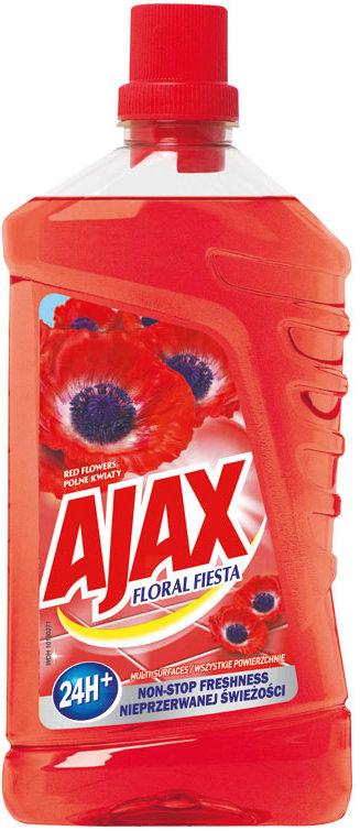 Fotografie Ajax Active Soda čistič povrchů v domácnosti 1000 ml, Red Flowers