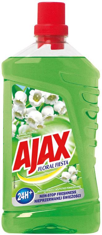 Fotografie Ajax Floral Fiesta Spring Flower univerzální čistící prostředek 1 l