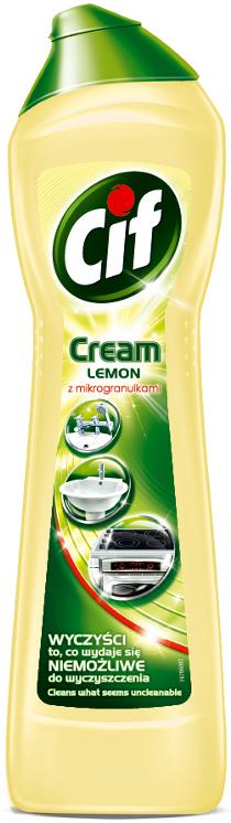 Cif Cream Lemon tekutý písek 250 ml