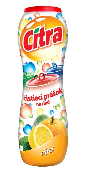 Citra Citron čistící písek na nádobí 400 g