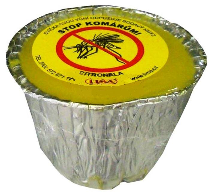 Lima Citronela proti komárům vonná repelentní svíčka 115 g
