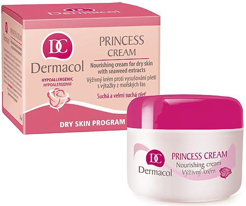 Dermacol Princess Cream krém proti vysušování pleti 50 ml