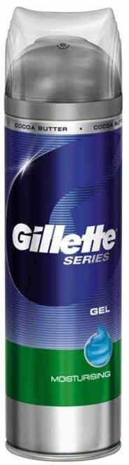Fotografie Hydratační gel na holení Gillette Series (Moisturizing) 200 ml