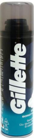 Fotografie Gillette Pěna na holení pro citlivou pokožku Sensitive (Foam) 200 ml
