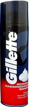 Fotografie Gillette Pěna na holení pro normální pokožku 200 ml