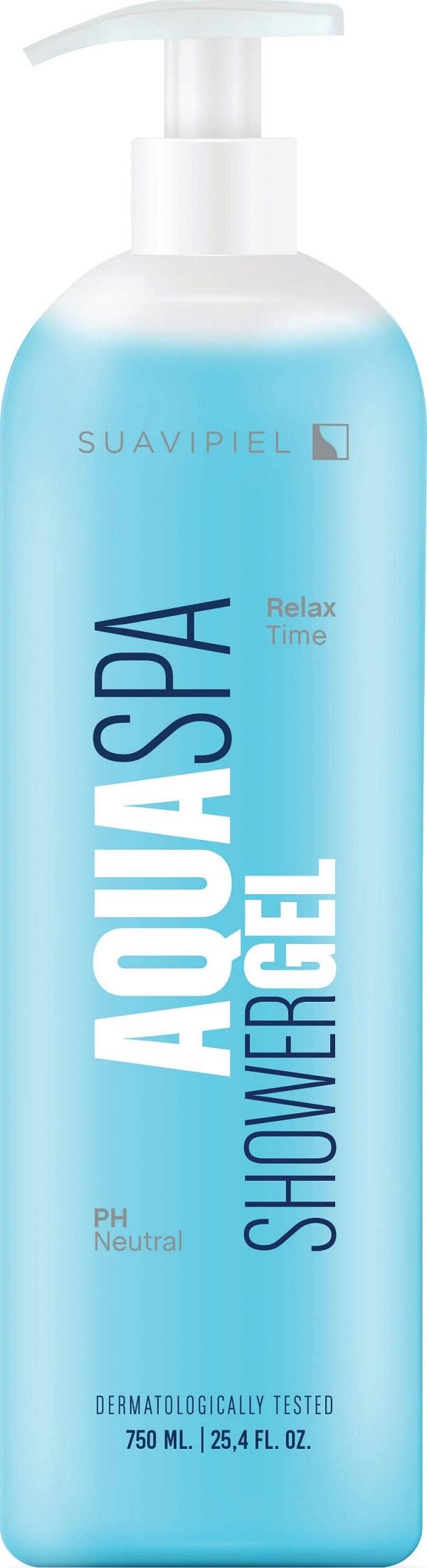 Fotografie Suavipiel Aqua Spa sprchový gel pro relaxaci 750 ml