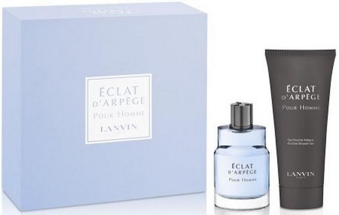 Lanvin Eclat D'Arpege pour Homme toaletní voda 50 ml + sprchový gel 100 ml, dárková sada