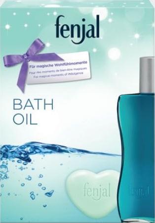 Fenjal Bath Oil Classic krémový olej do koupele 200 ml + krémové mýdlo 90 g, kosmetická sada