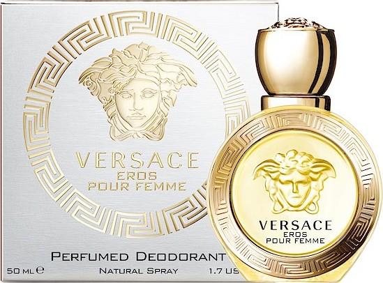 Fotografie Versace Eros pour Femme parfémovaný deodorant sklo 50 ml