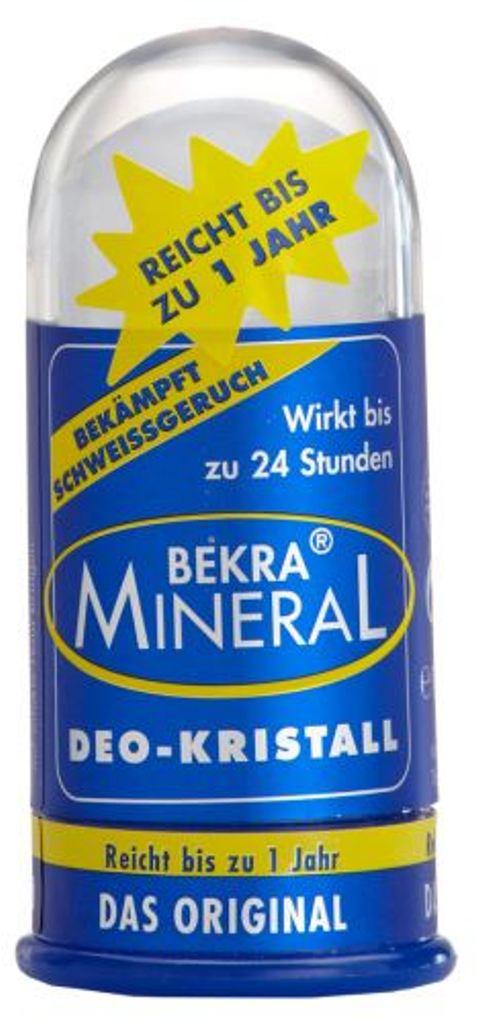 Fotografie Bekra Mineral Minerální přírodní antiperspirant deodorant tuhý krystal 100 g