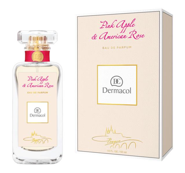 Fotografie Dermacol Pink Apple & American Rose parfémovaná voda pro ženy 50 ml