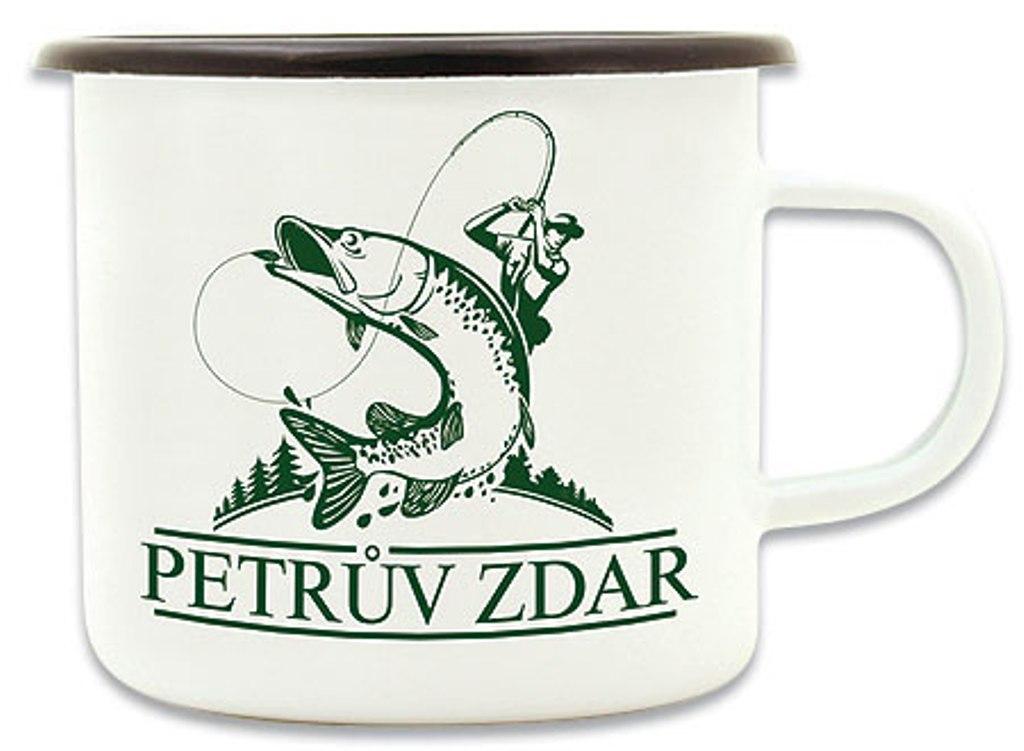 Bohemia Gifts & Cosmetics Plecháček Petrův zdar s potiskem pro rybáře 8 cm