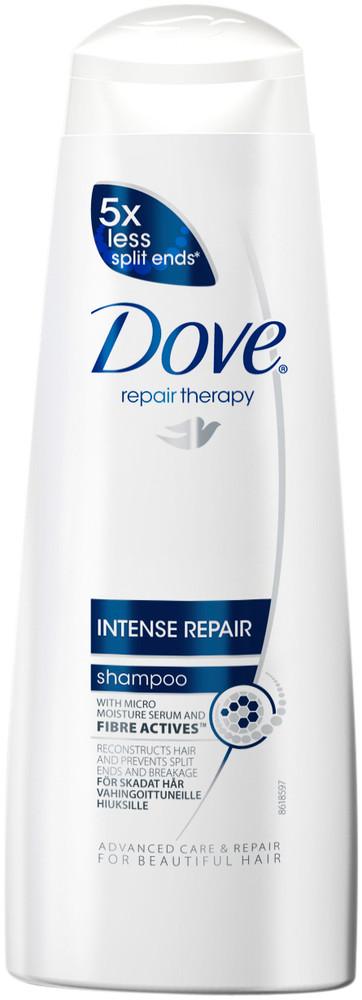 Dove Intense Repair šampon pro obnovu poškozených vlasů 250 ml