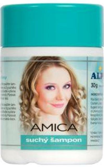 Fotografie Alpa Amica suchý šampon na vlasy 30 g