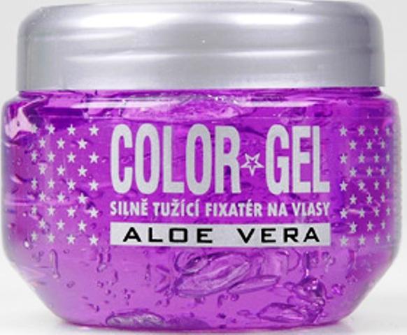 Fotografie Color Aloe vera gel na vlasy 175 ml