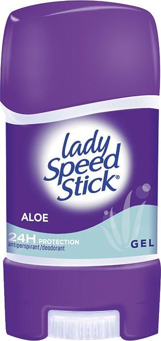 Lady Speed Stick 24/7 Aloe antiperspirant deodorant gel stick pro ženy 65 g