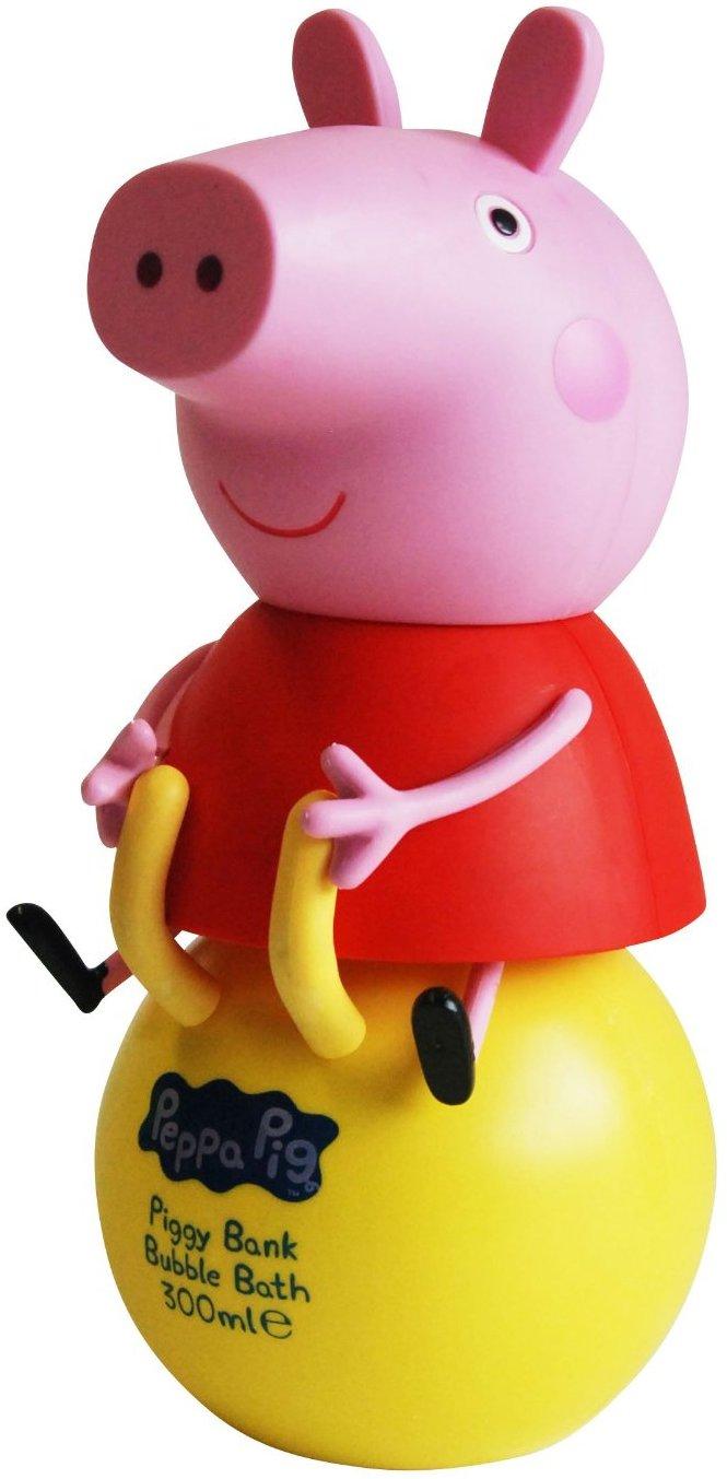 Peppa Pig - Prasátko Pepa 3D koupelový a sprchový gel pro děti 300 ml