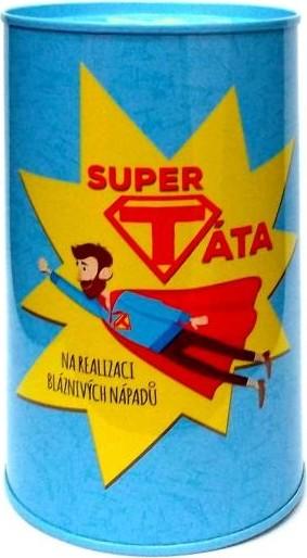 Albi Humorná pokladnička Super táta 13 x 8 cm