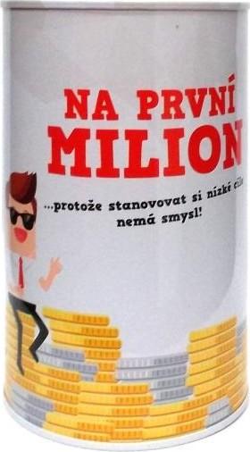 Albi Humorná pokladnička Na první milion 13 x 8 cm