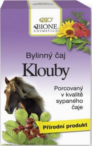 Fotografie Bione Cosmetics Klouby bylinný čaj XL 20 sáčků po 2 g