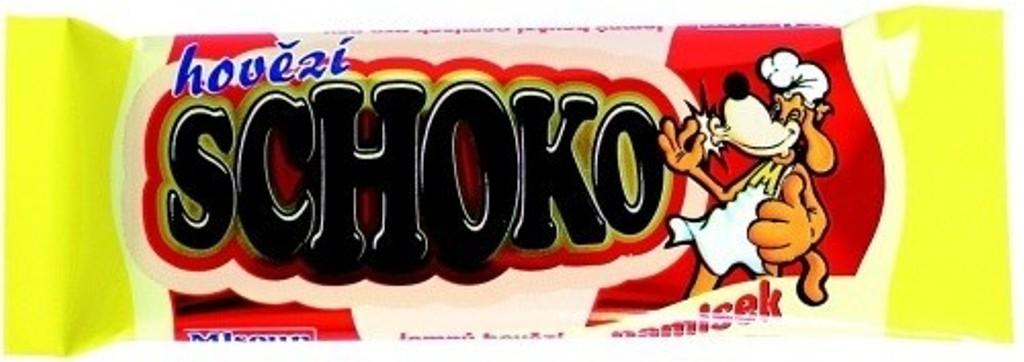 Fotografie Mlsoun Čokoláda hovězí doplňkové krmivo pro psy 30 g