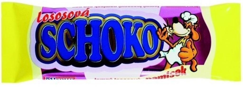 Fotografie Mlsoun Čokoláda lososová doplňkové krmivo pro psy 30 g