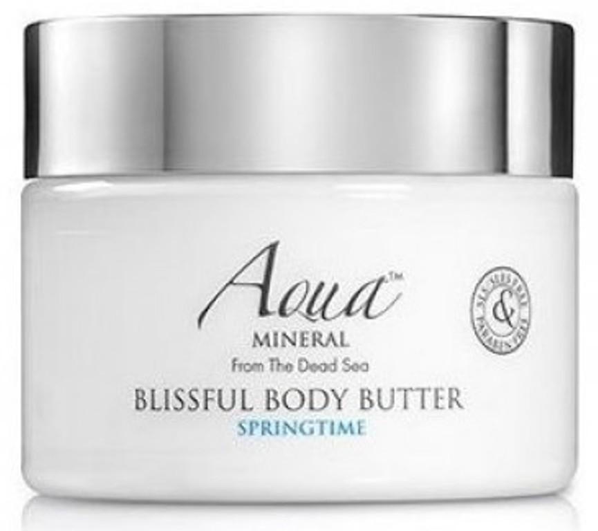 Aqua Mineral Blissful Body Butter Springtime tělové máslo 350 ml