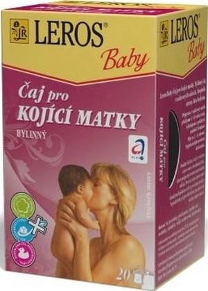 Fotografie Leros Baby pro kojící matky bylinný čaj 20 x 1,5 g