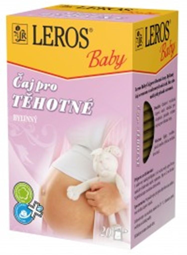 Fotografie Leros Baby Pro těhotné ženy bylinný čaj 20 x 2,0 g