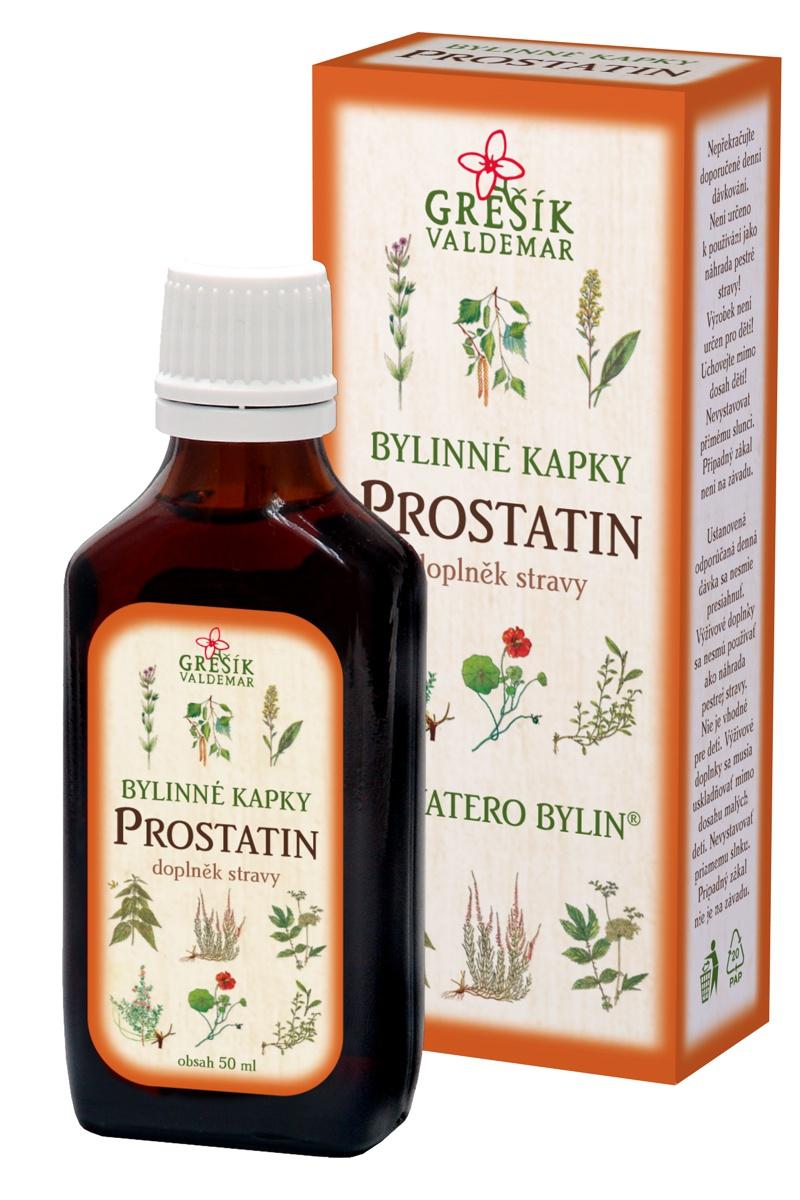 Fotografie Grešík Devatero bylin Prostatin kapky na funkci prostaty 50 ml