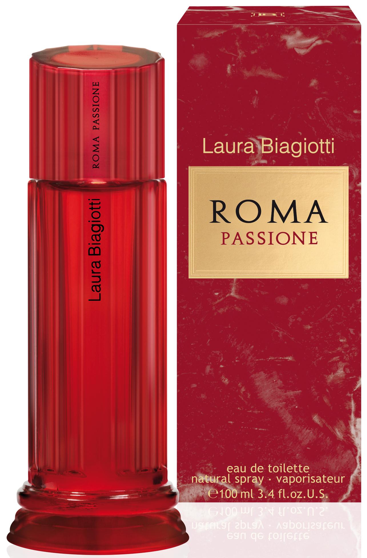 Laura Biagiotti Roma Passione toaletní voda pro ženy 100 ml