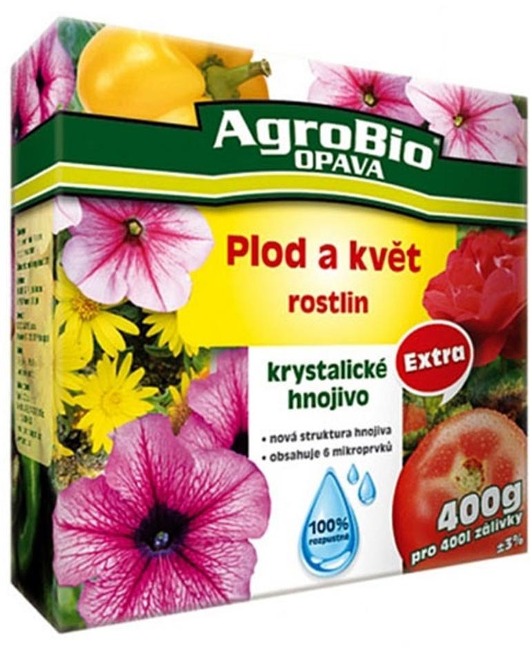 AgroBio Extra Plod a květ krystalické hnojivo 400 g