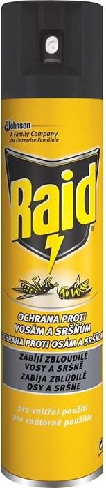 Fotografie Raid Ochrana proti vosám a sršňům sprej 300 ml