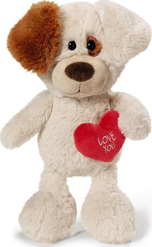 Nici Love You Pes Plyšová hračka nejjemnější plyš 35 cm
