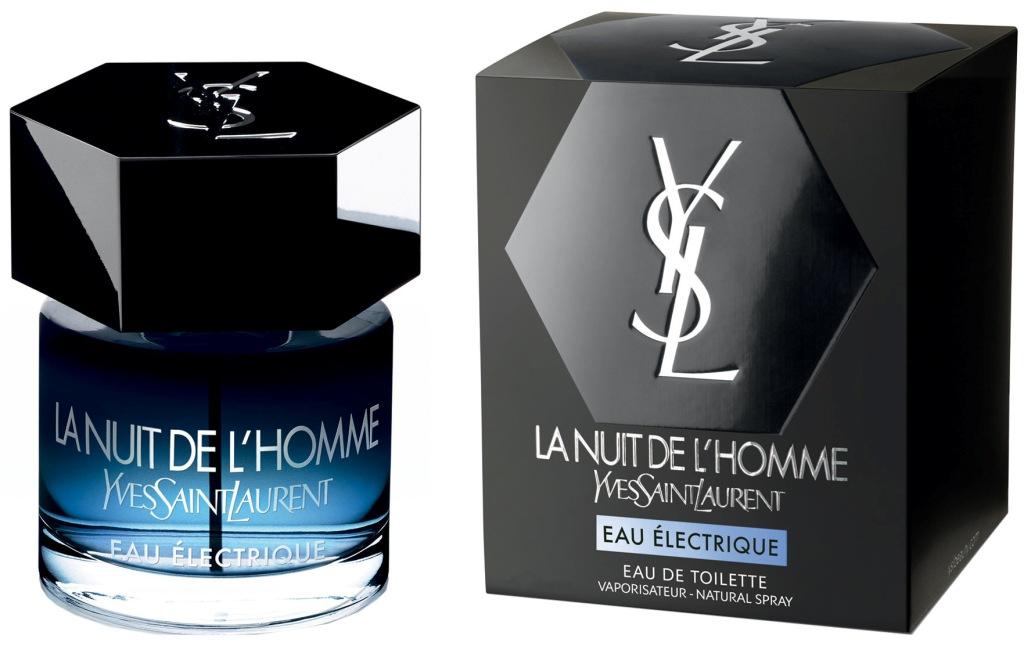 Fotografie Yves Saint Laurent La Nuit de L Homme Eau Electrique toaletní voda pro muže 100 ml