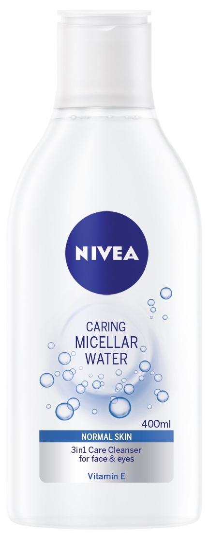 Fotografie Nivea Face osvěžující micelární voda pro normální pleť 400 ml