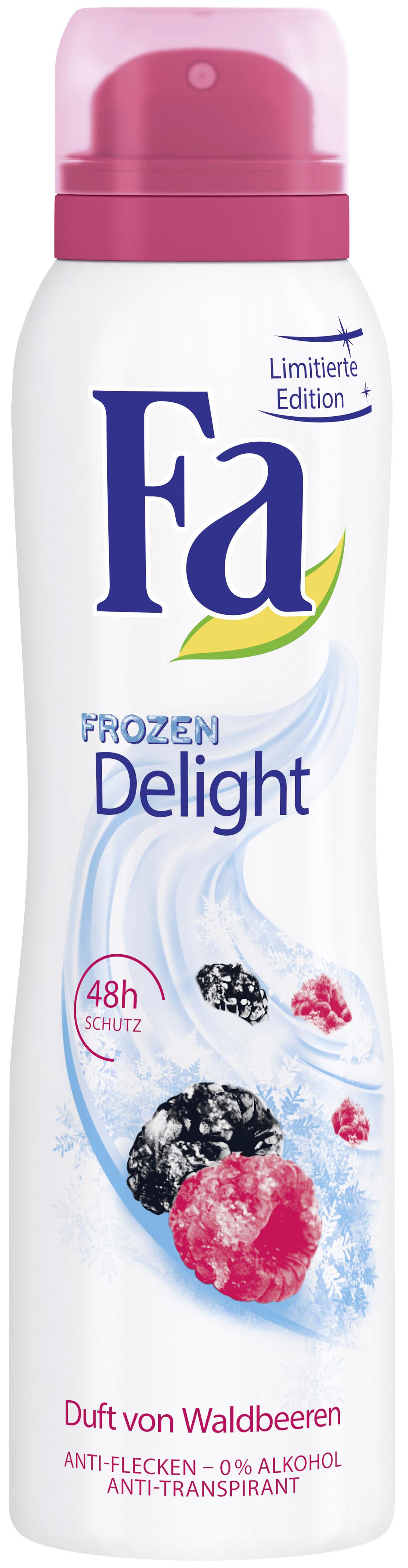 Fa Frozen Delight Lesní ovoce deodorant sprej 150 ml